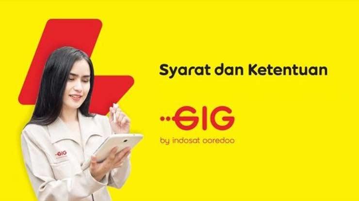 Syarat Merubah Paket GIG Indosat