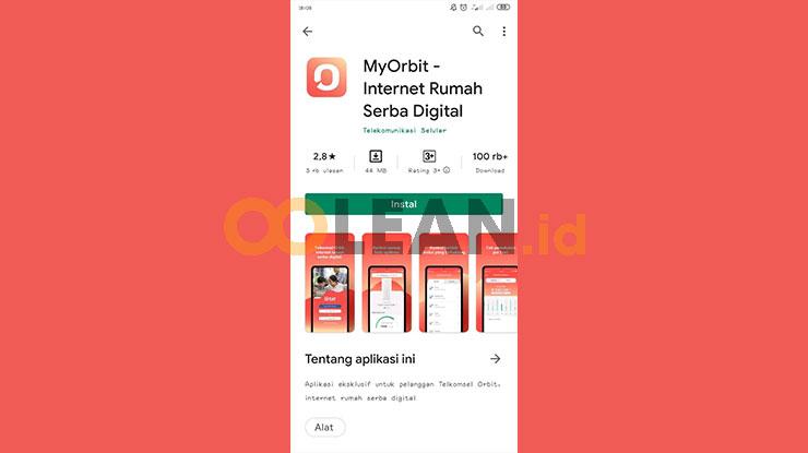 Download Aplikasi MyOrbit Telkomsel