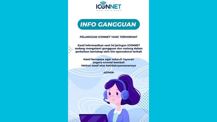 Gangguan Iconnect Hari Ini