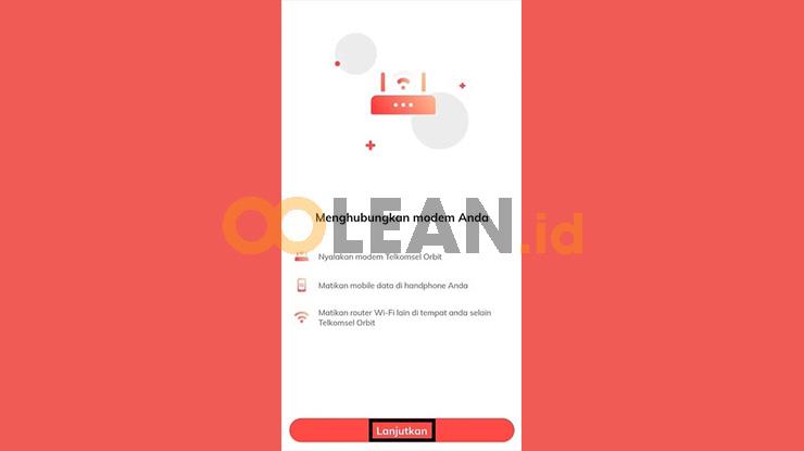 Hubungkan Koneksi Orbit Telkomsel