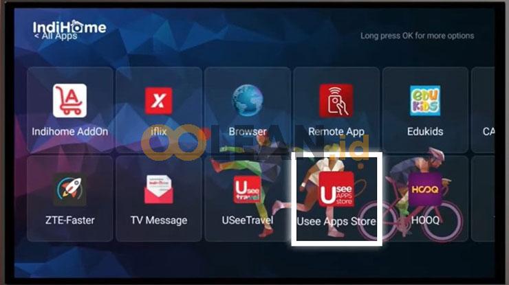 Pilih Usee App Store