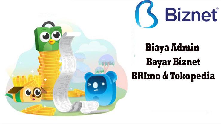 Biaya Admin Bayar Tagihan Biznet di BRImo