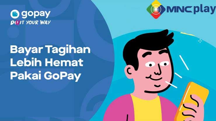 Cara Bayar Tagihan MNC Play Pakai GoPay