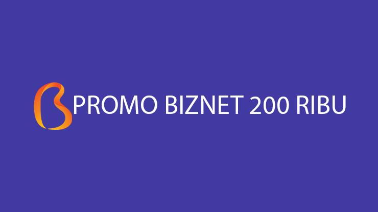Promo Biznet 200 Ribu IPTV Syarat Cara Mendapatkan