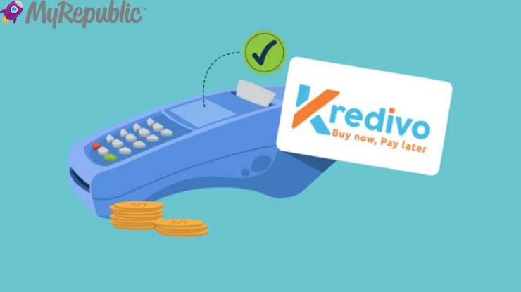 Biaya Layanan Bayar MyRepbulic via Kredivo