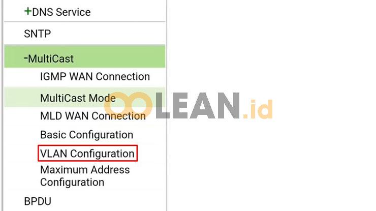 Buka VLAN Configuration