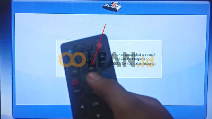 Nyalakan STB MNC Play Untuk Mulai Setting STB Tanpa Kabel LAN