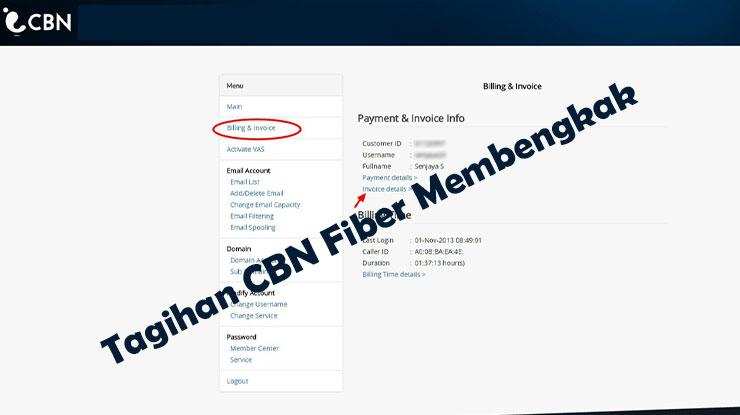 Tagihan CBN Fiber Membengkak